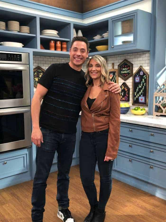 "Jeff Mauro (The Host) & Kim Lange on The Kitchen - Food Network ""Favorites"" Episode Season 20"