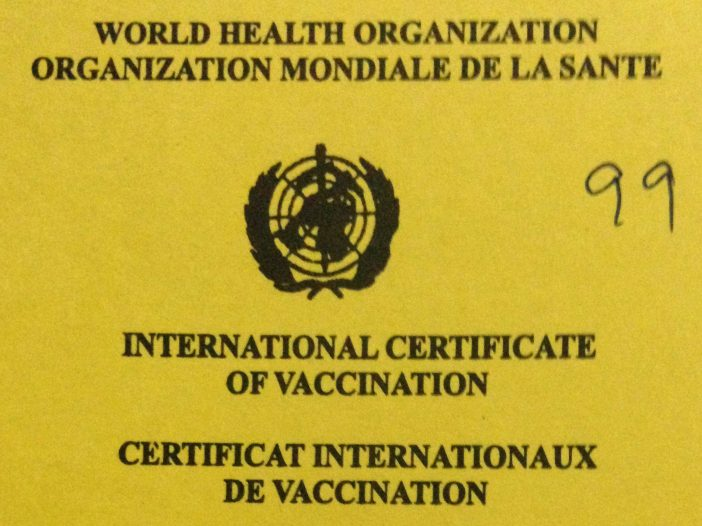 Yellow Fever Vaccination Certificate (WHO)