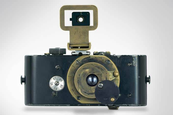 The first Leica, that revolutionised photography