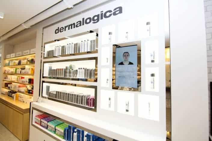Dermalogica Digital Signage by Signagelive