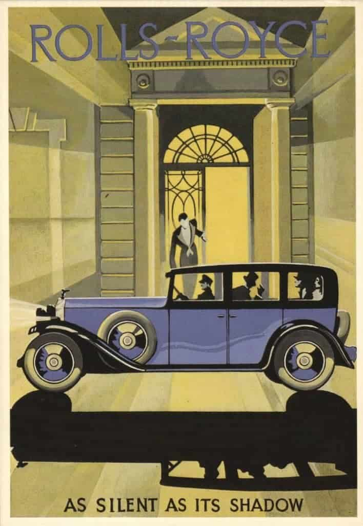 Art Deco Commercial Art Rolls-Royce