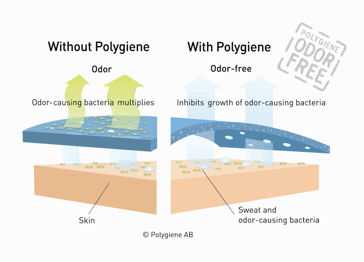 Polygiene® How it works