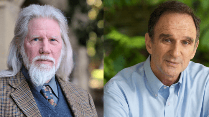 Whitfield Diffie (left) and Martin Hellman (right)