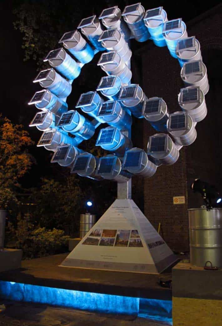 Solar Peace Sculpture Fred George