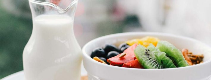 Milk Dairy for healthy eating