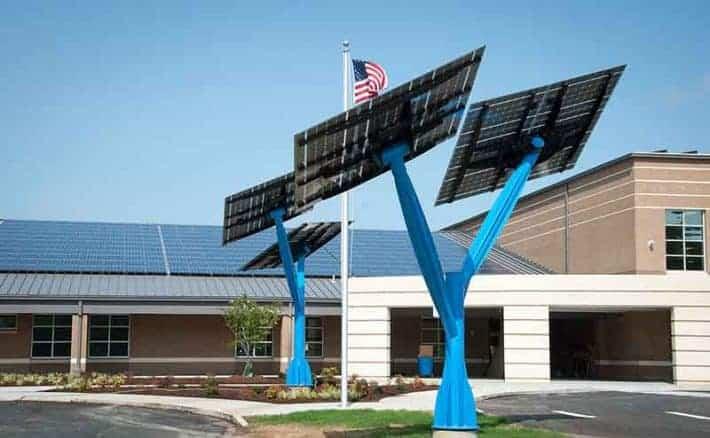 Sandy Grove Middle School Solar Installation