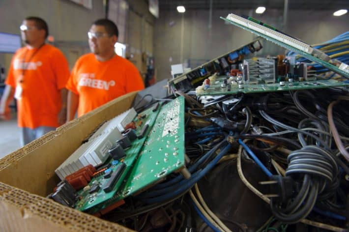 Importance Recycling E-Waste Developing World