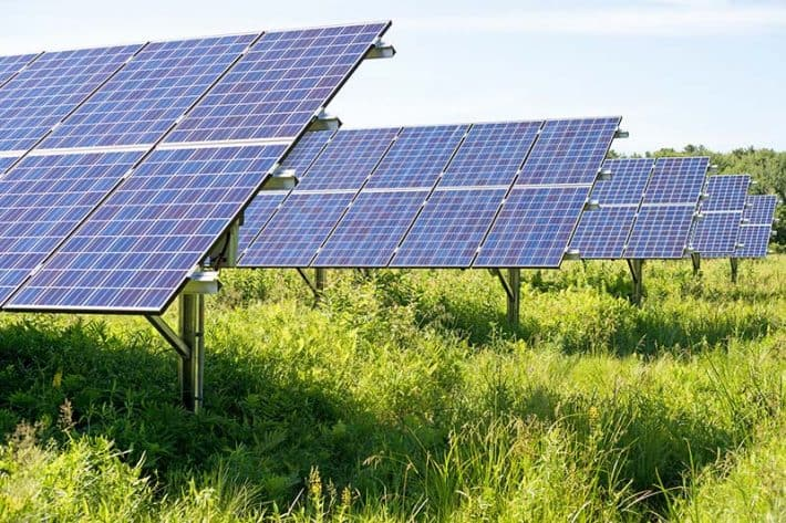 Solar Energy Myths Community Solar Farm
