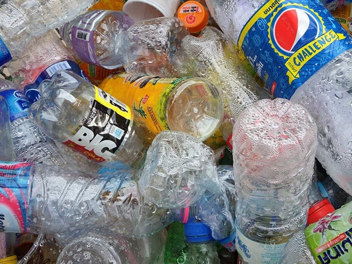 Plastic Bottles Office Recycling