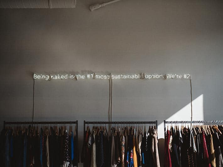 What Is Sustainable Fashion Clothing Rack