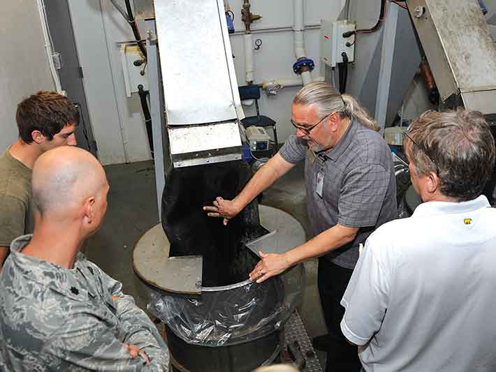 US Airforce Turning Food Waste into Energy