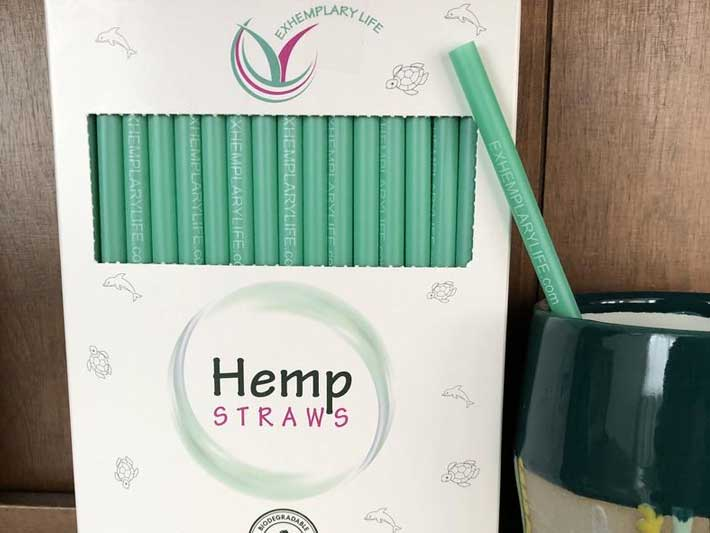 Exhemplary Life Hemp Straws