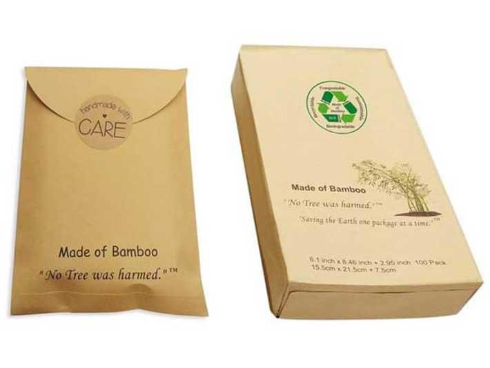 Bamboo Envelope