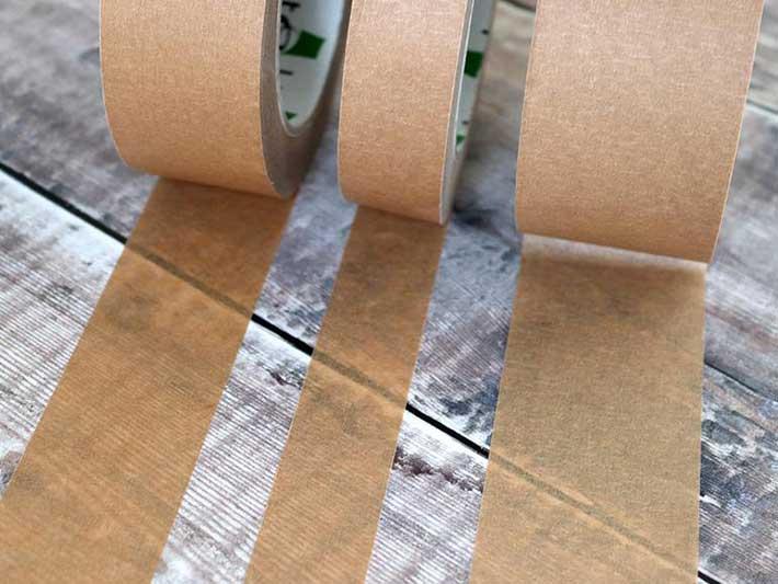 Eco Friendly Packaging Brown Tape