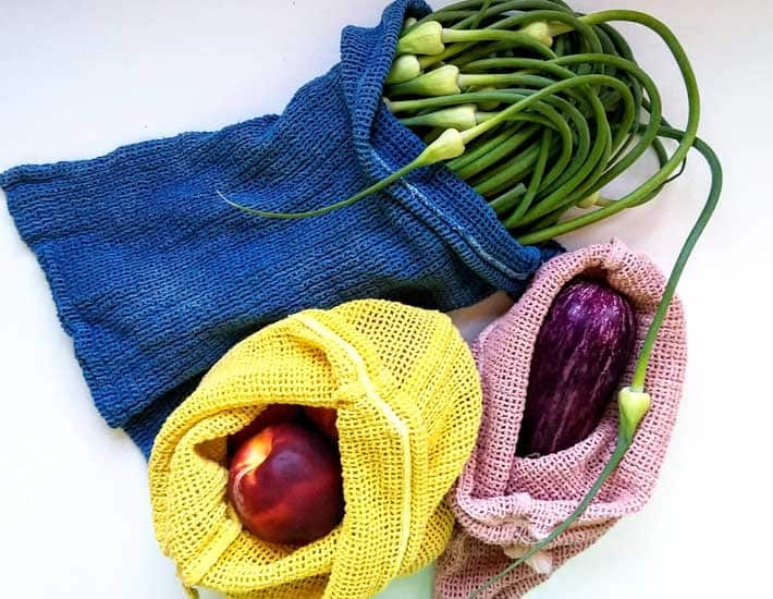 Reusable product bags plastic free gift