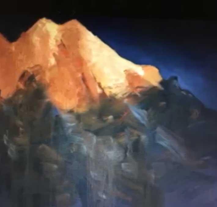 Resul Uzay Rzayev- Glacier