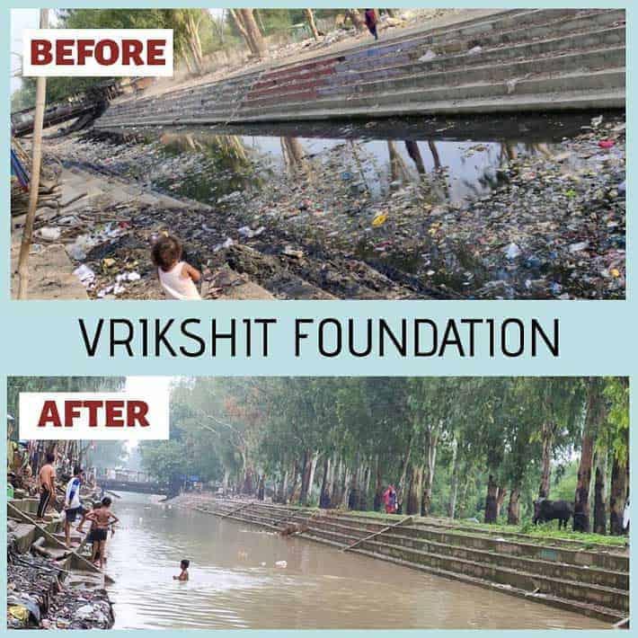 Vrikshit River Clean Up