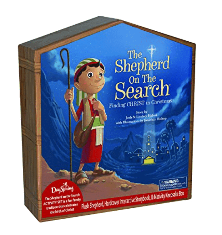 Nativity Activity for Kids at Christmas Helps Moms bring the focus back to Christ - The Shepherd on the Search.