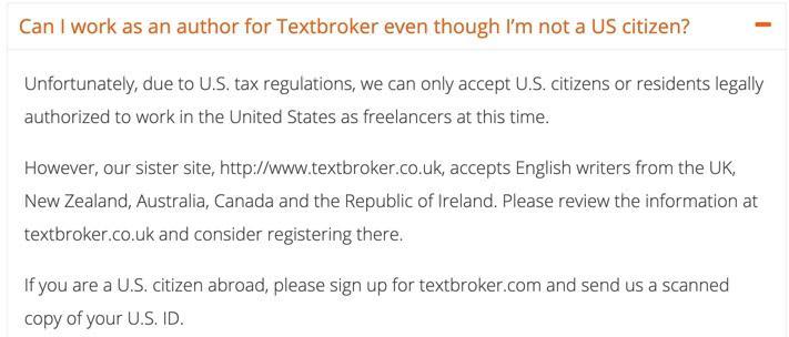 TextBroker countries