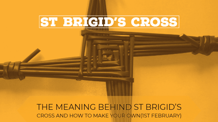 St Brigid's Cross how to make your own