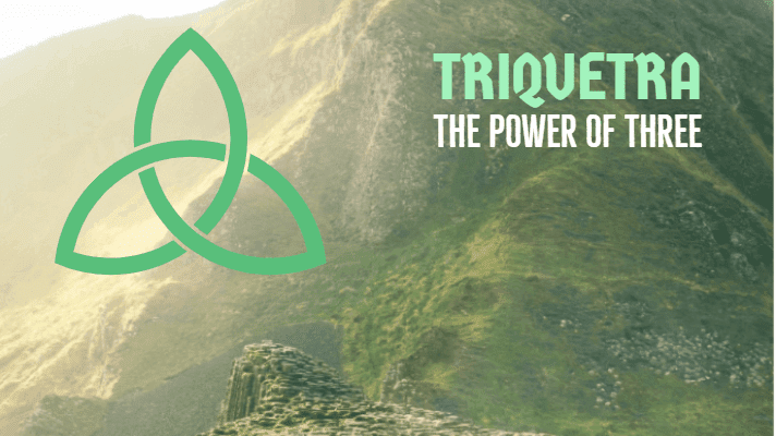 Triquetra power of three
