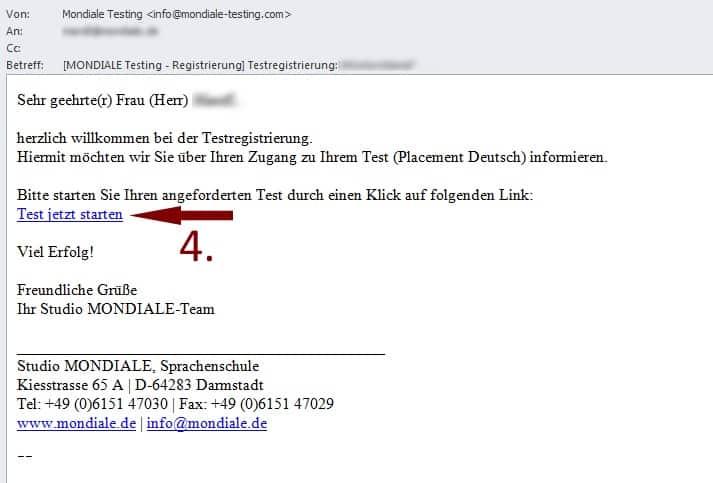 Einstufungstest Studio Mondiale Sprachenschule In Darmstadt Für
