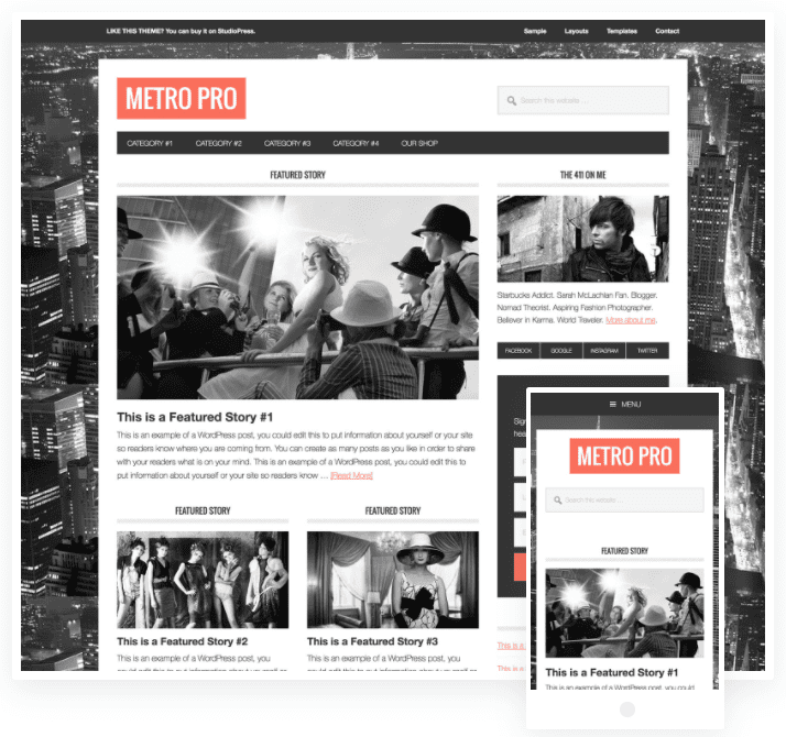 responsive magazine wordpress
