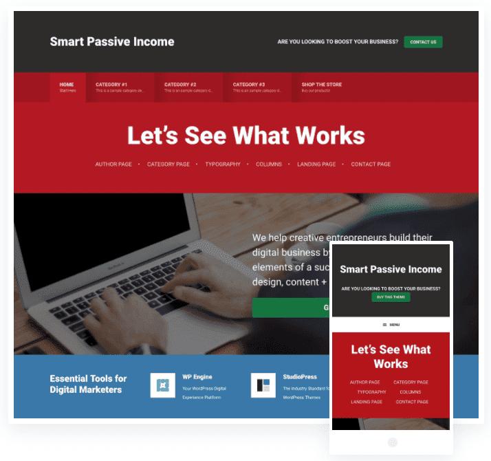 seopress digital marketing agency wordpress theme
