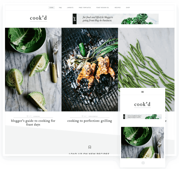 wordpress recipe theme