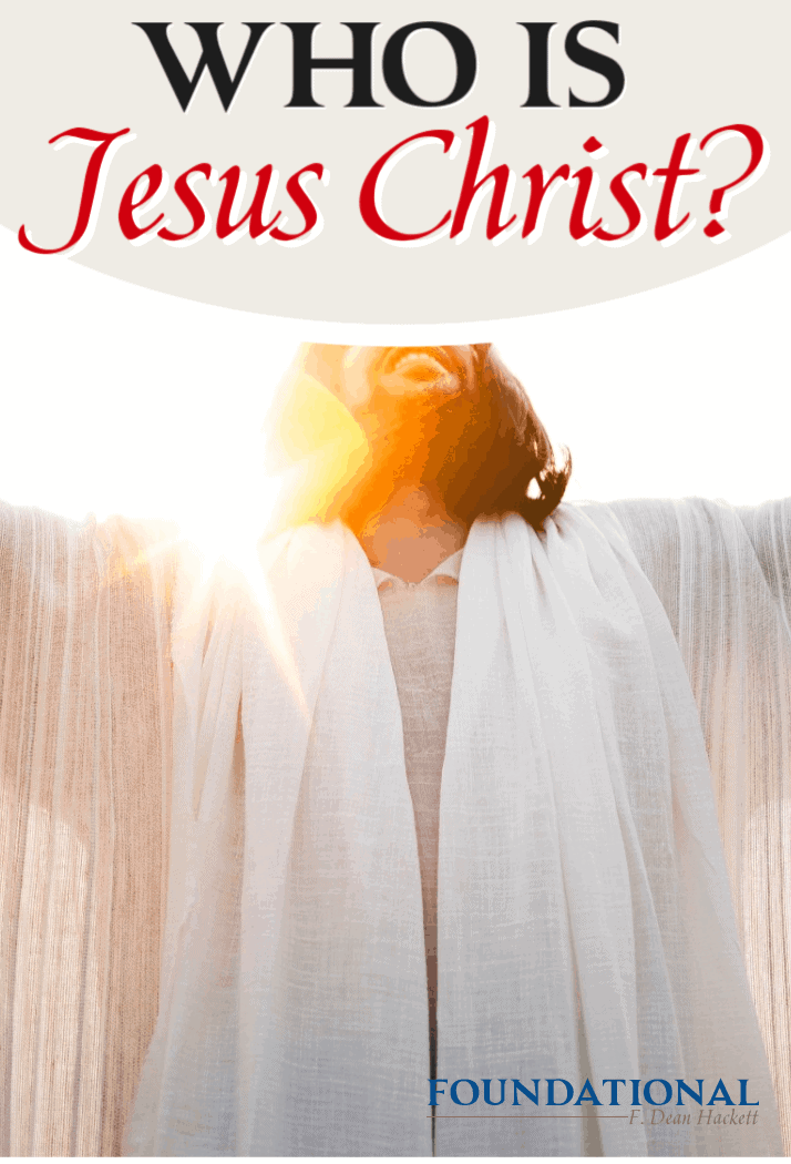 Who is Jesus Christ, exactly? According to many, He was a prophet, a great man, even the greatest man to ever live. But is this the whole story? #Foundational #Jesus #Bible #DaVinciCode