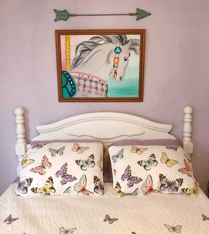 Vintage Farmhouse Tween Girls Room 1