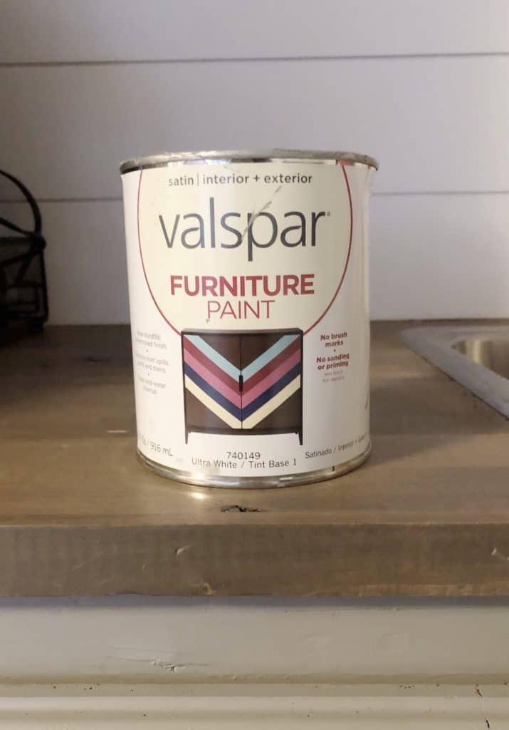 Valspar Furniture Paint