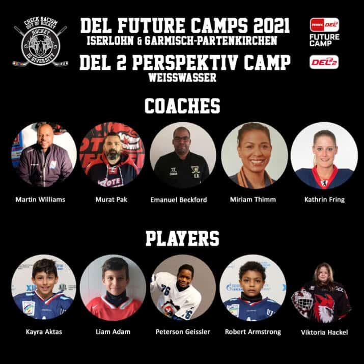 DEL Future Camp und DEL2 Perspektiv Camp 2021