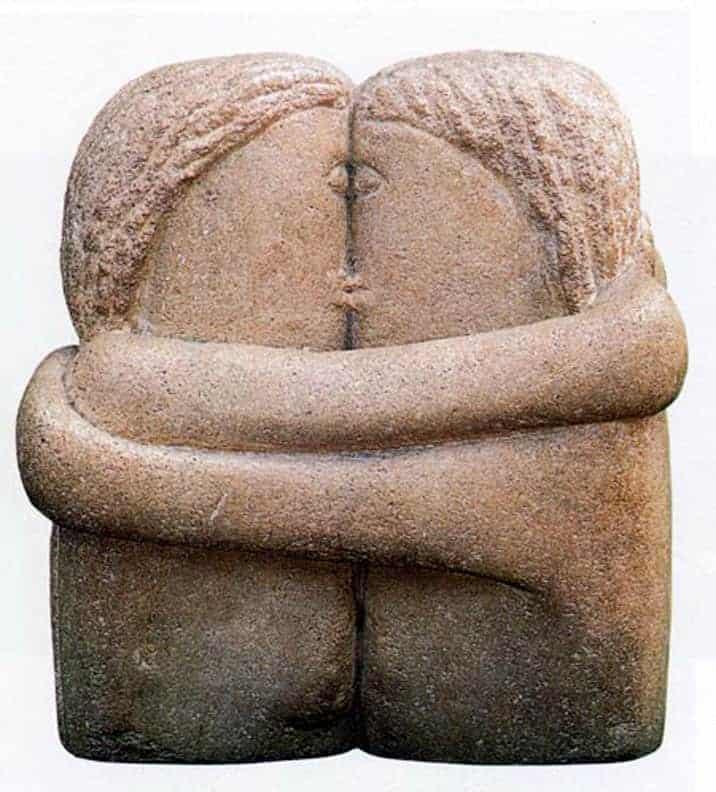 Constantin Brancusi - The Kiss - 1907