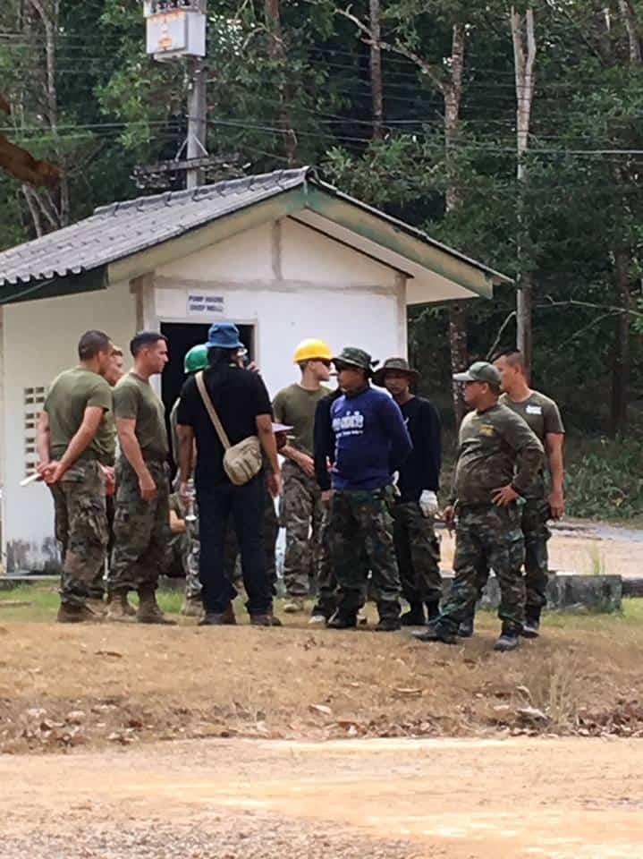 ทหารสหรัฐกับทหารเรือไทย