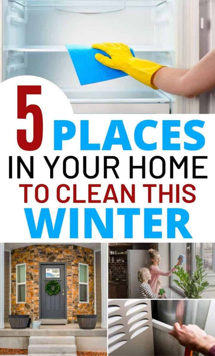 5 Places in Your Home You Should Clean This Winter