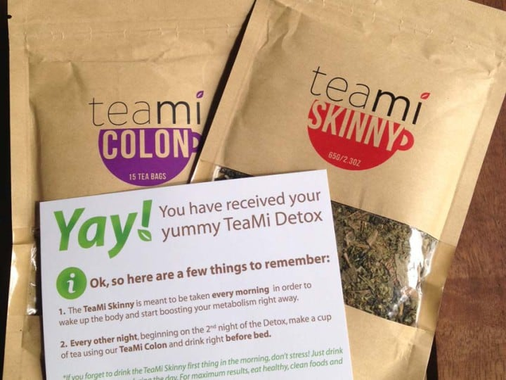 Teami Tea Blends : ma cure post bébé