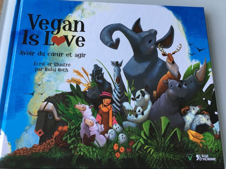 Vegan is Love : un livre plein d'amour !