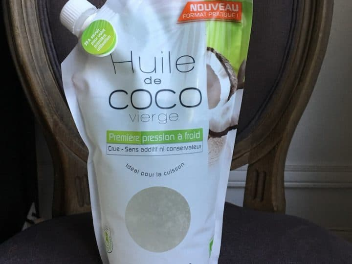 Huile de coco Comptoirs & Compagnies + recette
