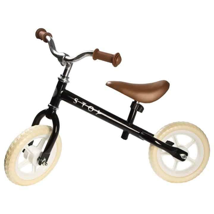 "Stoy 10"" Springcykel Vintage Svart"