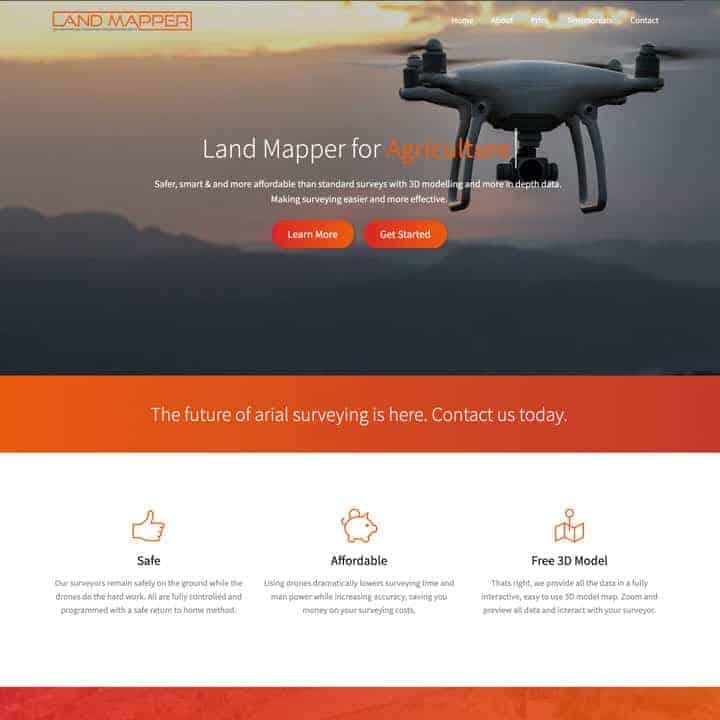 Land Mapper Website