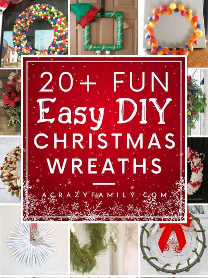 27 Festive & Fun DIY Christmas Wreaths