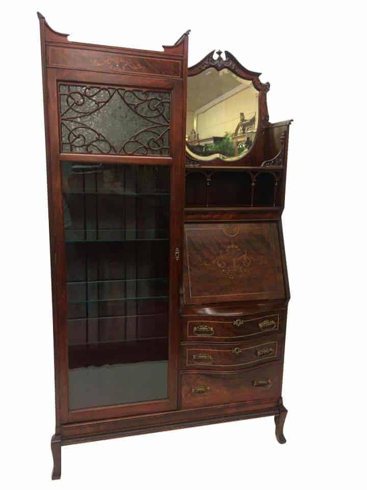 Antique Side by Side Secretary Desk