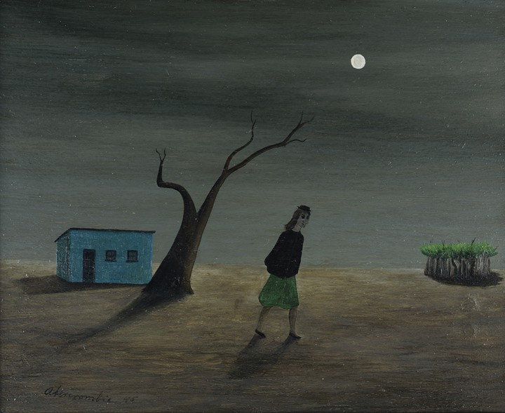 Gertrude Abercrombie, Girl Searching, 1945.