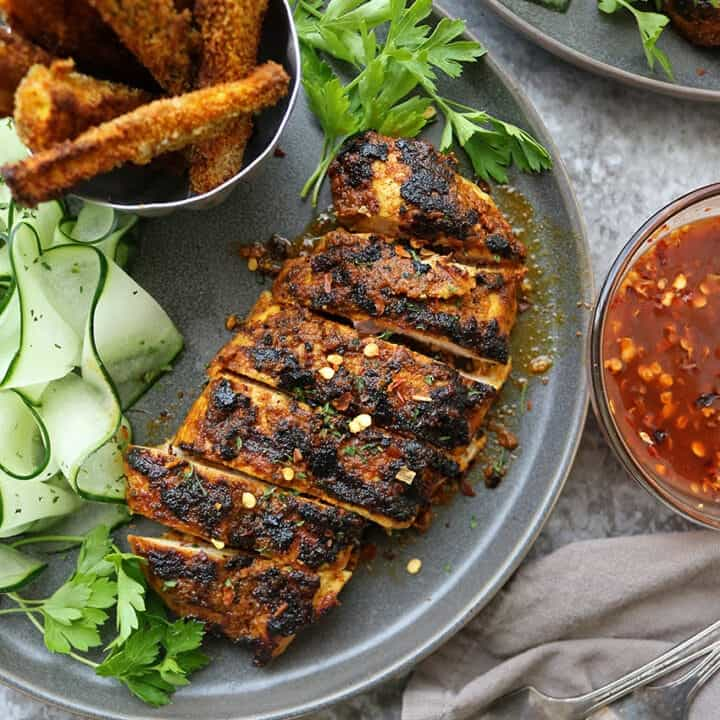 Easy Grilled Curry Chicken