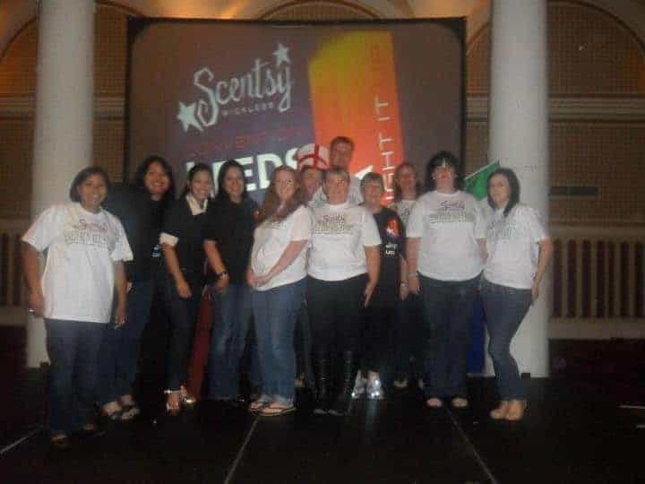 Emerald All Stars Scentsy Team In Leeds Convention 2012