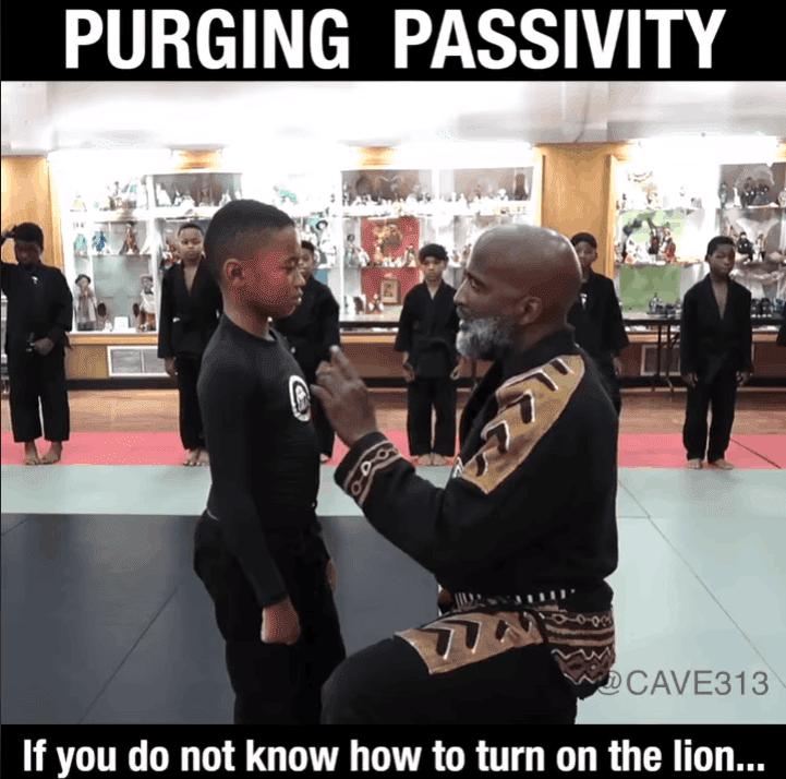 purging passivity