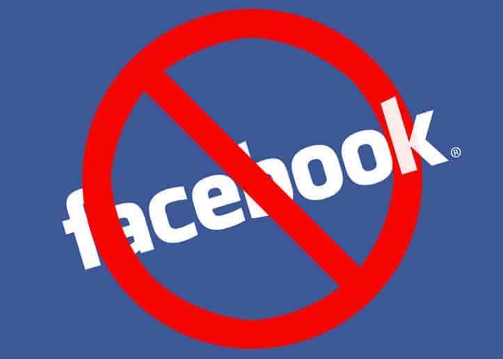 Image result for facebook banned