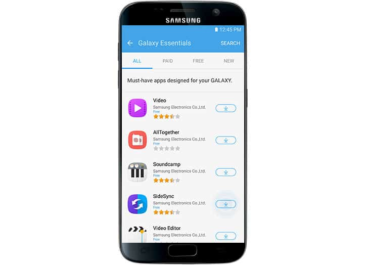 How to Download / Install apps on Samsung Galaxy S7 from Galaxy Apps