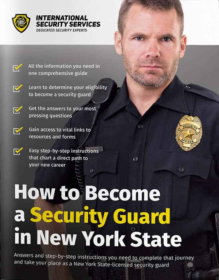 How to become a security guard free guide